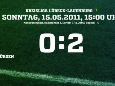 SV Fortuna St. Jürgen - Türkischer SV 0-2