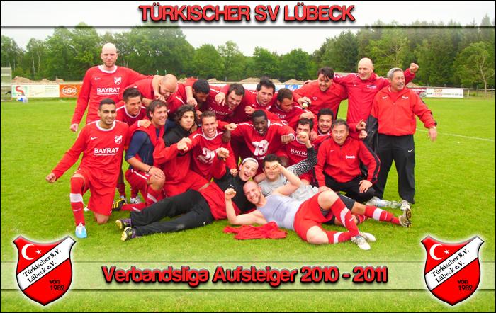 Verbandsliga Aufsteiger Türkischer SV 2010-2011