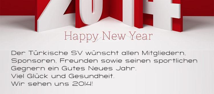 Frohes Neues Jahr ! Yeni Yılınız Kutlu Olsun !