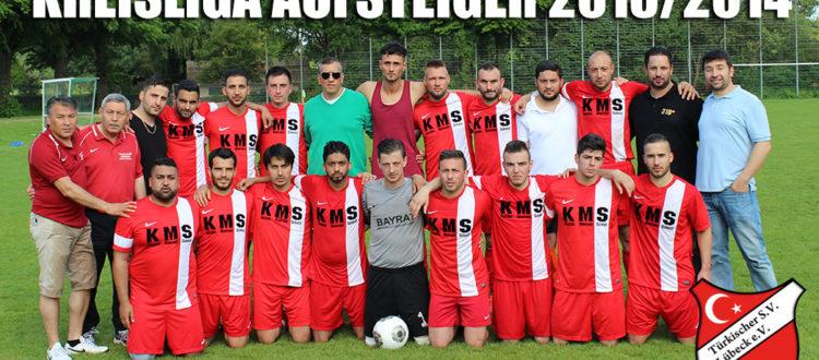 Kreisliga Aufsteiger 2013 / 2014 Türkischer SV Lübeck