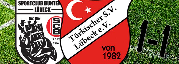 12. Spieltag: SC Buntekuh – Türkischer SV 1:1