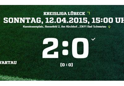 24. Spieltag: SV Olympia Bad Schwartau - Türkischer SV 2:0