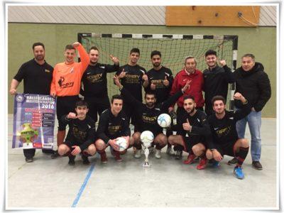 Futsal Hallenkreismeister 15/16: Tükischer SV!