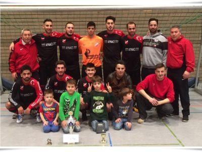 Sieger der Hallenmasters Lübeck 2016 Türkischer SV