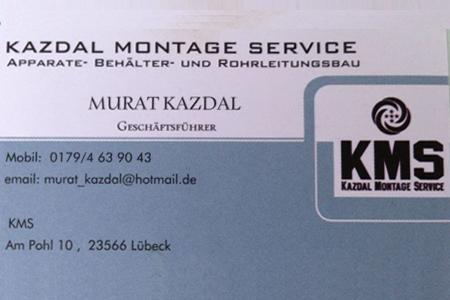 Sponsor: Kazdal Montage Service