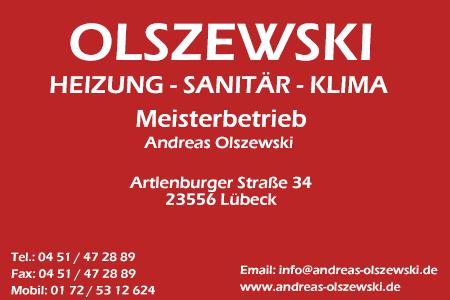 Sponsor: Olszewski Heizung Sanitär Klima