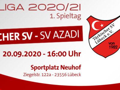 Kreisliga: Türkischer SV Lübeck - SV Azadi Lübeck