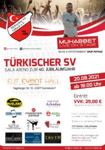 40 Jahre Türkischer SV - Gala mit Muhabbet live on Stage